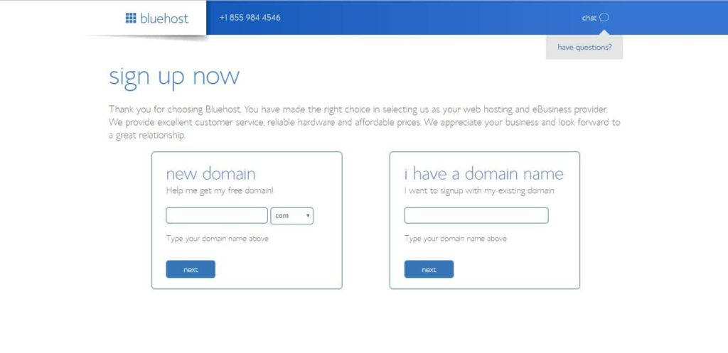 Purchse Domain From Bluehost