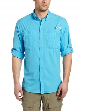 Columbia Mens PLus Tamiami II Long Sleeve Shirt