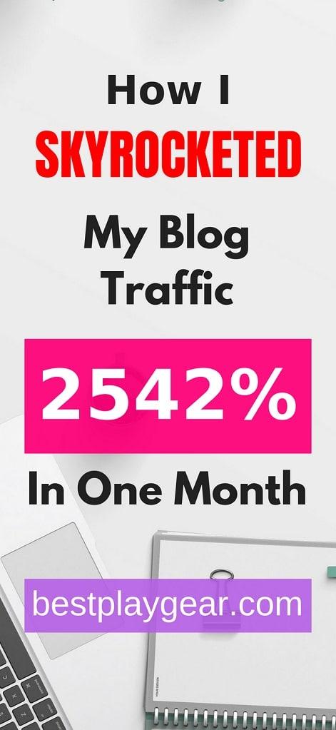 Blog Traffic Blog Income Report
