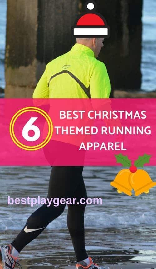 Christmas themed running apparel