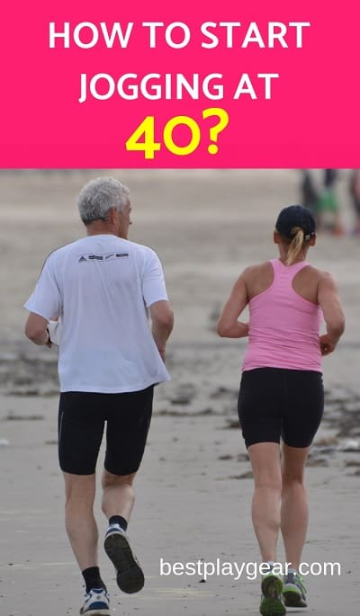 How to start jogging at 40