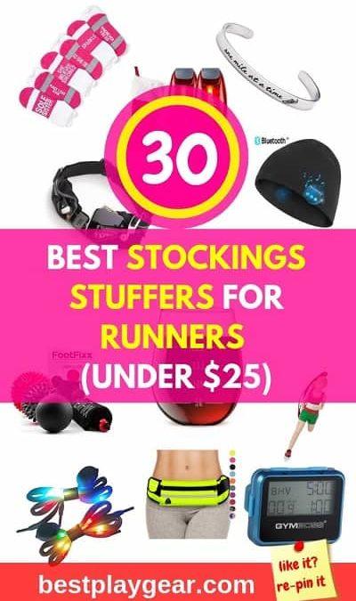 30 Best Stockings Stuffers for Runners under $25 [2020]