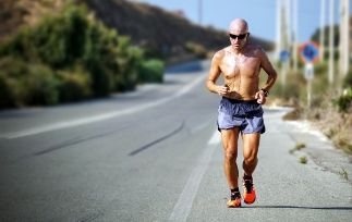 How does heat impact running pace-min