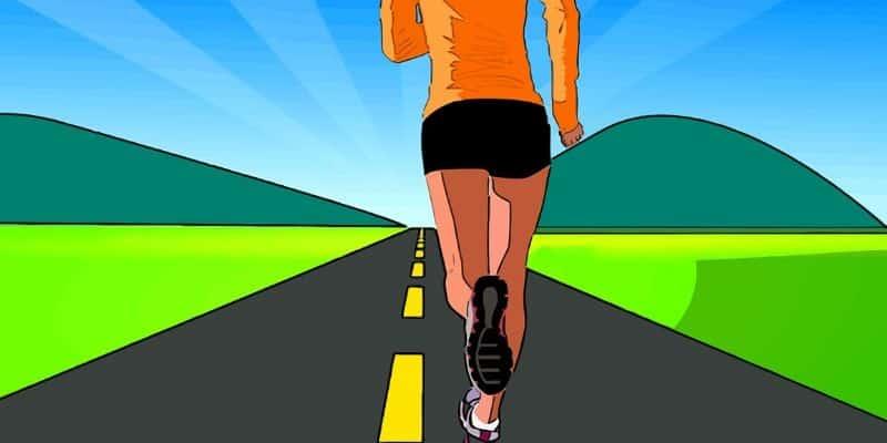 running at dawn-min
