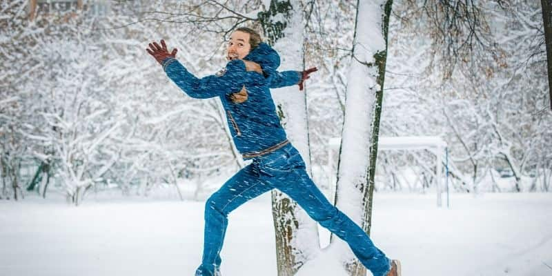Is it safe to run in the winter