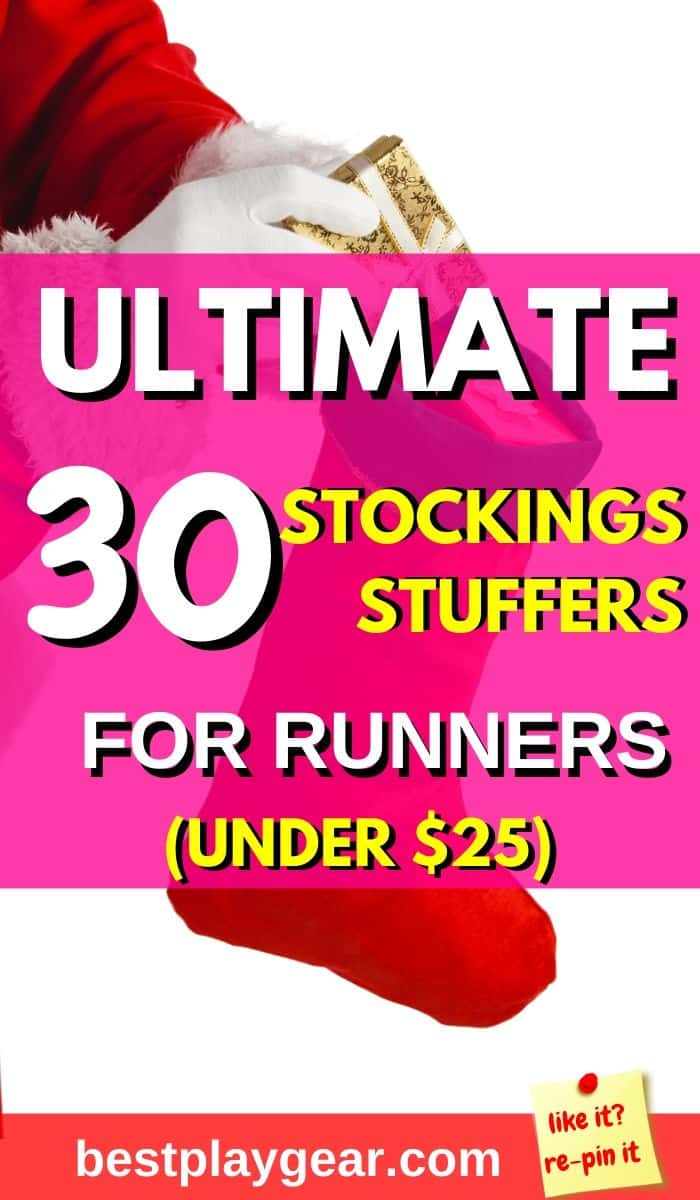 Ultimate list of stockings stuffers for runners. Best Christmas gift ideas for runners. These stockings stuffers for runners will take his or her breath away. Your man or woman will have ultimate Christmas ever.