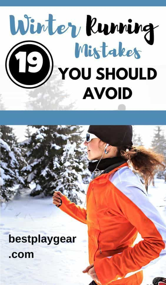 Running in the winter is a challenge for many runners when they run for the first time and you will make a lot of mistakes. I am sharing them today plus other winter running tips