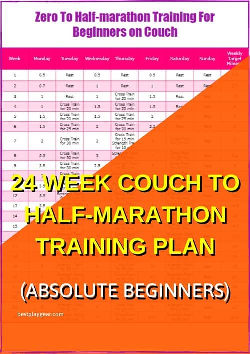 From zero to half marathon is an ambitious dream. If you want to follow a couch to half marathon training plan then this one is perfect for you. Any beginner can follow that and you will be able to run a half marathon almost injury fee. So go ahead and follow this zero to half marathon training plan and make your dream a reality.