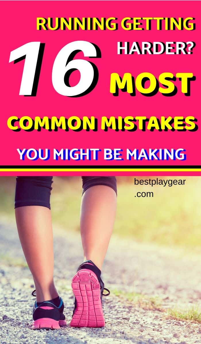Check if you are making these common running mistakes. These running tips will help you to become a runner faster. However, if you keep doing these running mistakes, you will either end up injured or will never become good at running.