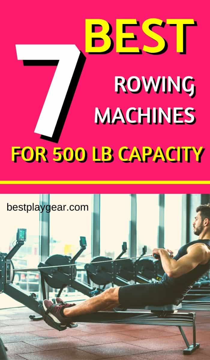 Best Rowing Machines of 500 lbs Capacity is hard to find. However, if you are willing to make that little effort, then finding a rowing machine for a heavy person is not that hard. Here are some of them which will serve you as a guide in your research.