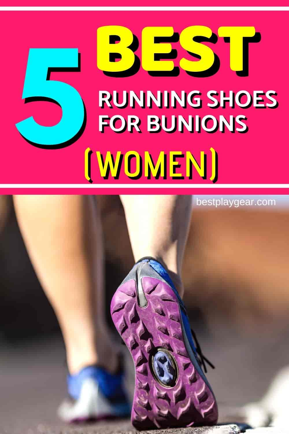 Looking for best running shoes for bunions for women? Here are the absolute top ones. These running shoes will help you to run without the problem of bunion pain. Also, they are specially selected for women so you will not have to keep searching.
