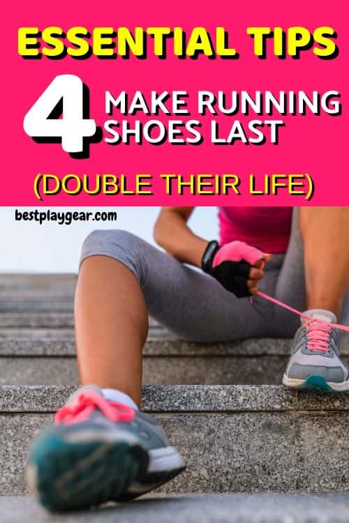 How to make running shoes last? Well here are some essential tips that will almost double the life of your running shoes.
