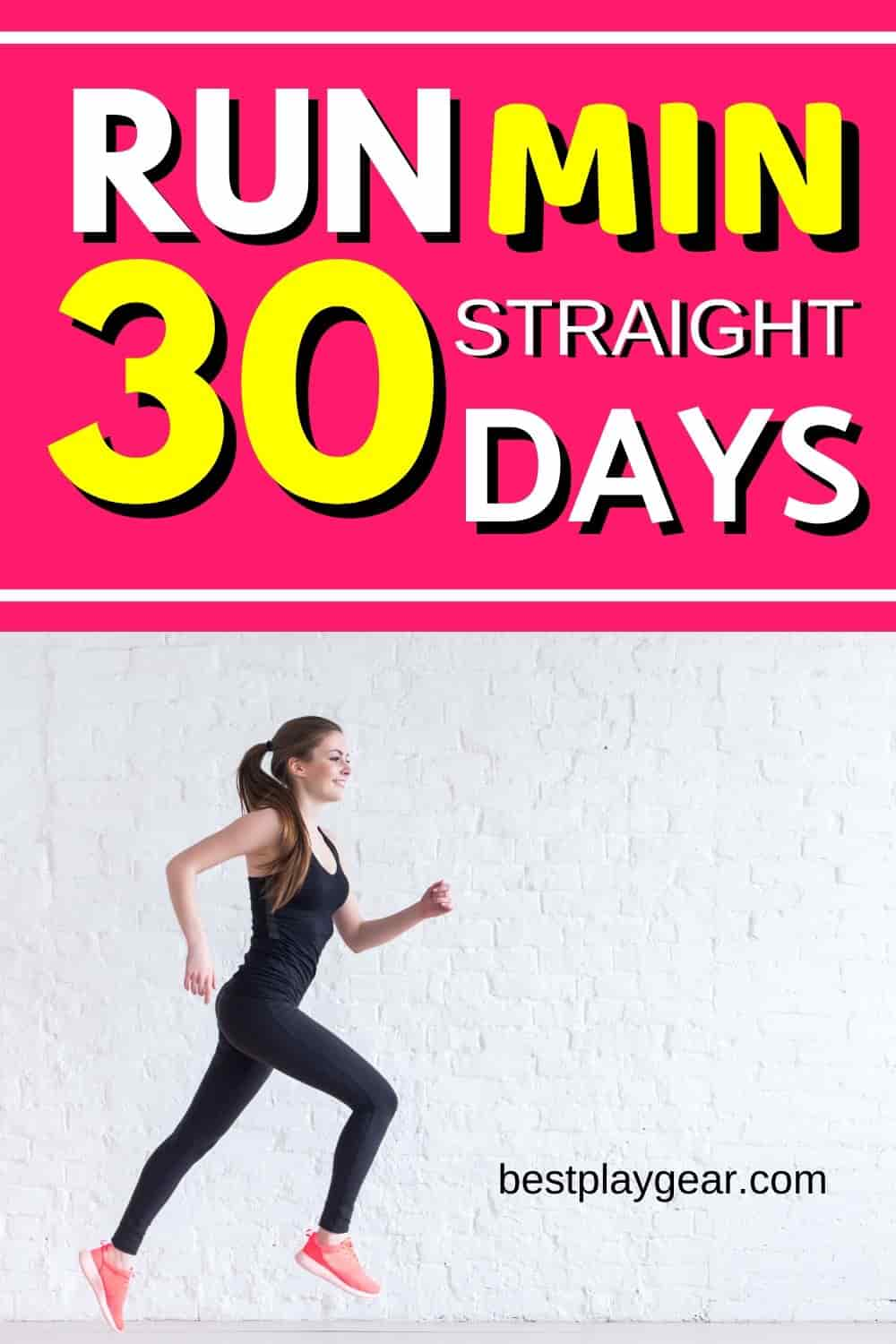 Run 30 min straight in 30 days with this running plan. If you cannot run for more than a couple of minutes and want to get in a great running shape then this 4 weeks running plan will help you to run non-stop for 30 min.