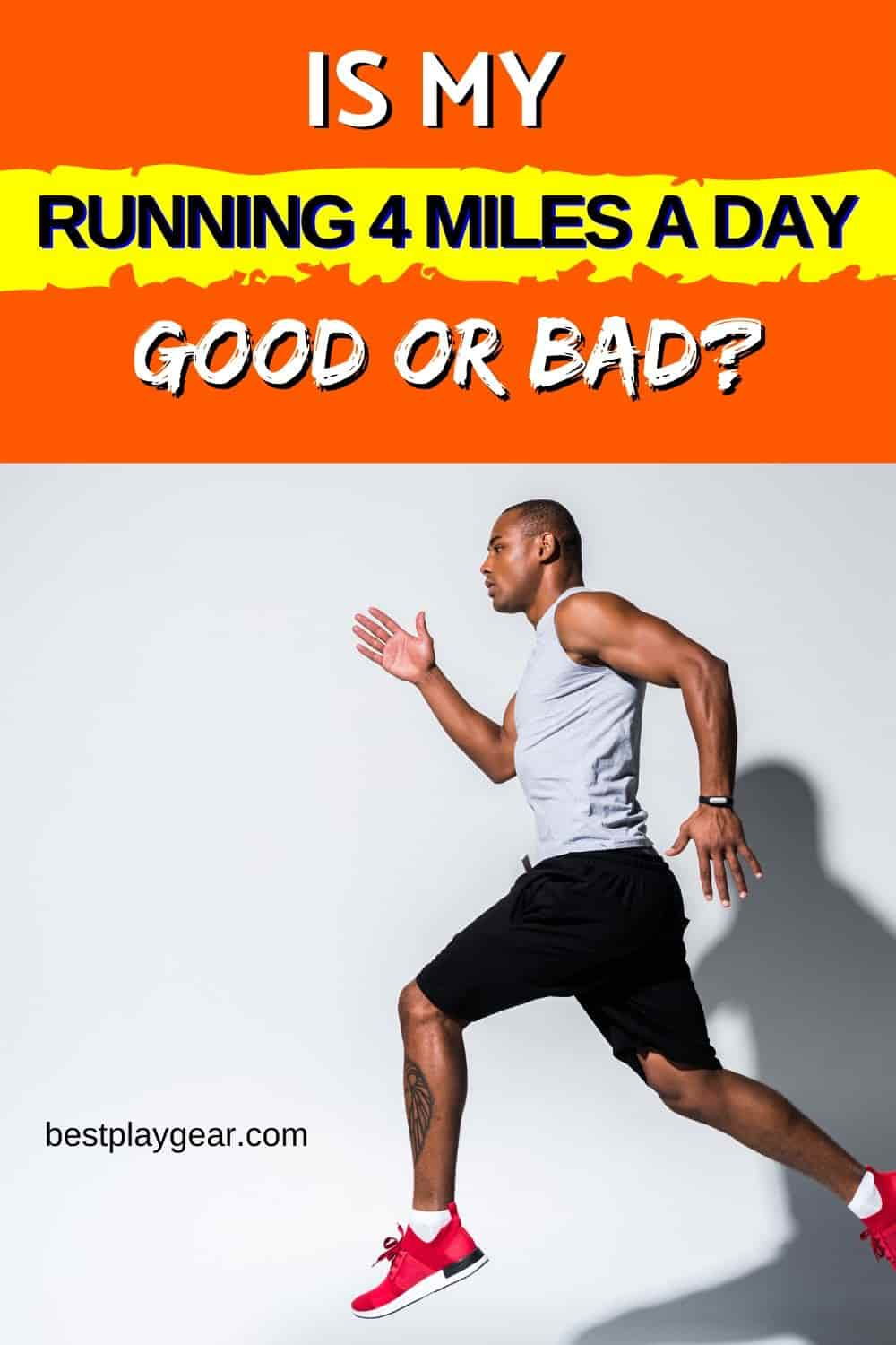 Running 4 miles a day? Is this running workout good for you? What will happen if you continue to run 4 miles every day? Can it help you to lose weight? All your questions are answered.