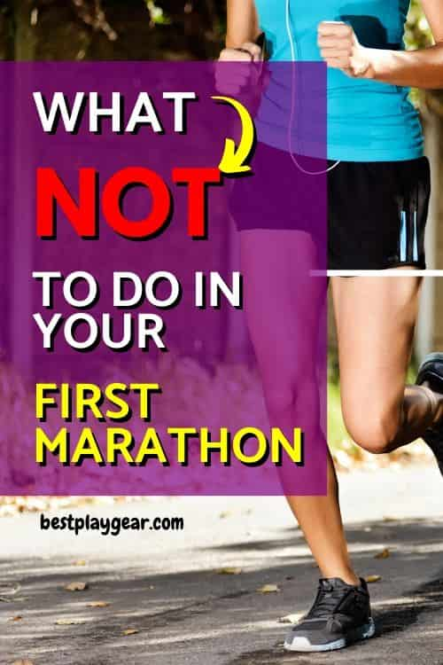 Marathon mistakes are common among beginners as well as advanced runners. Here are some tips on what not to do in your first marathon. These tips will help you to avoid the most common mistakes of the marathon.