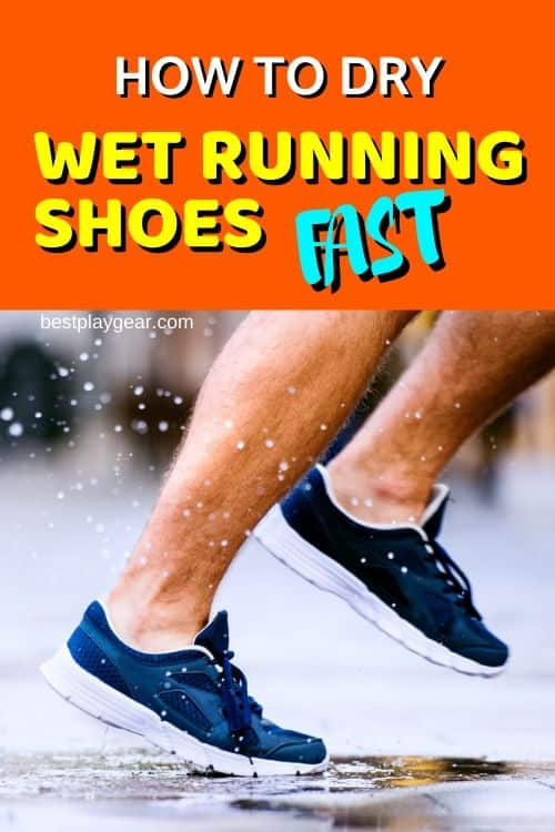 How to dry wet running shoes fast? Here are some ways to dry your running shoes quickly. Now don't skip running in the rain.