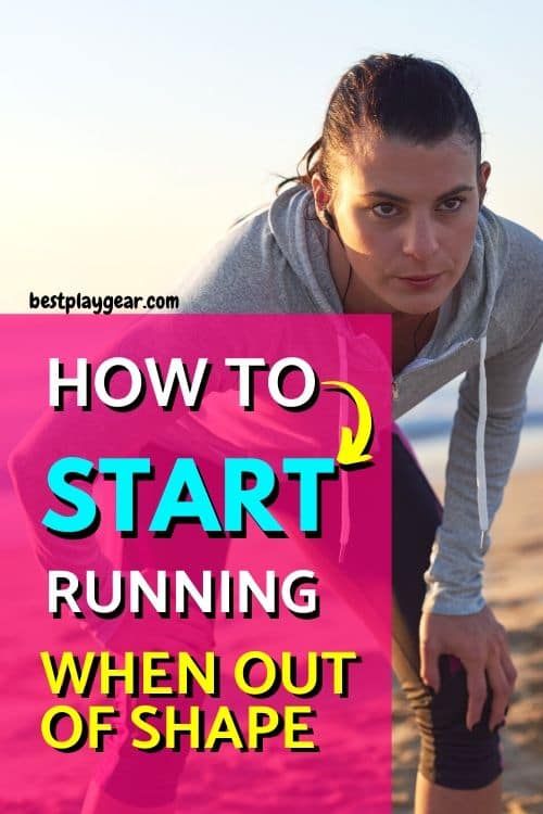 How to start running when out of shape? Here are some concrete steps that you may take to start running again no matter how out of shape you are.