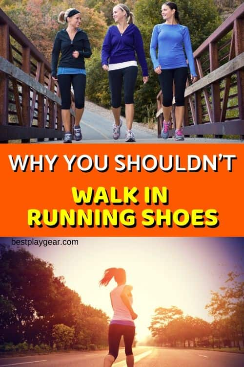 Should you use running shoes for walking? What are the health hazards you may have to deal with? What you should do instead? Which running shoes can be used for walking? All of these questions are answered...