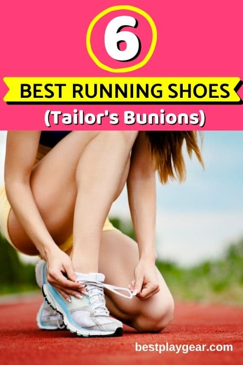 Running with tailor's bunions? Here are the best running shoes for your tailor's bunion. Run pain free.