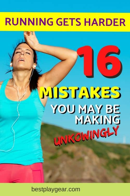 Common running mistakes to avoid when running gets harder. This is especially true if you are trying to make a comeback to running. Avoid these running mistakes and you will soon regain your running form.