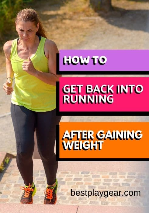 Are you worried about gaining a lot of weight during pregnancy? You don't know how to get back in shape after pregnancy? If you are not sure how to get back into running shape here is the exact plan to help you shed those extra pounds. This simple guide will show you how to get back to running after gaining weight.