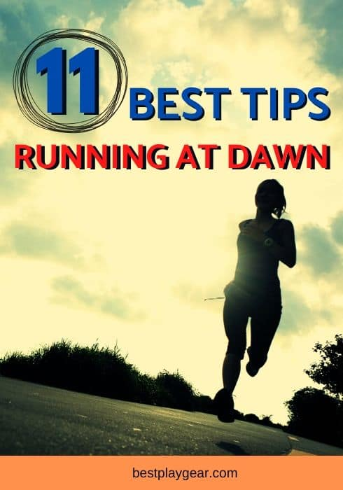 If your want to form a habit of running at dawn or running before dawn, here are some habit-forming tips to run early in the morning. These running tips will change how you go for a run in the morning.