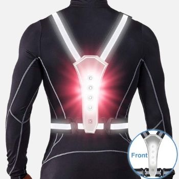 ANCROWN LED Reflective Vest