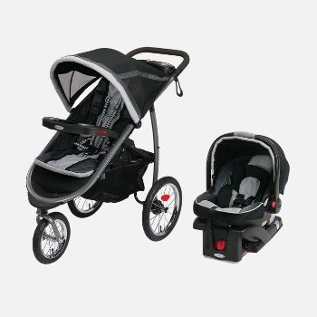 Graco FastAction Fold Jogging Stroller-min