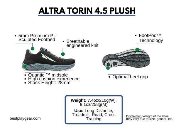 ALTRA TROIN 4.5 PLUSH
