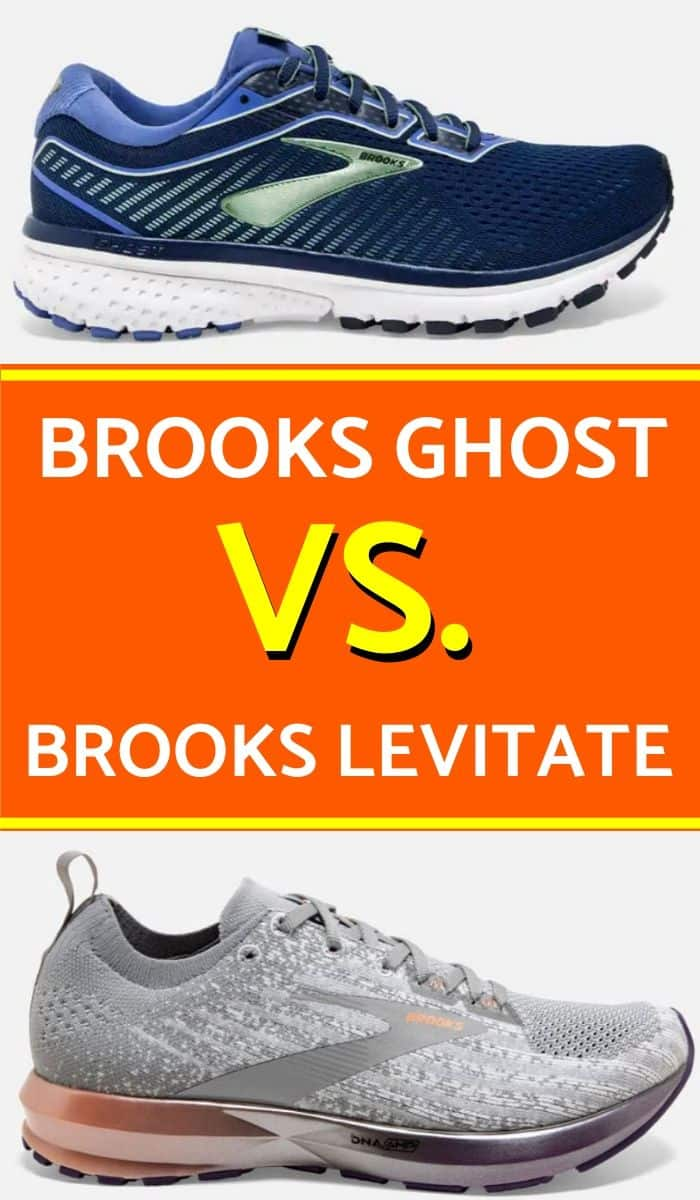 Brooks Ghost Vs Levitate Pinterest-min
