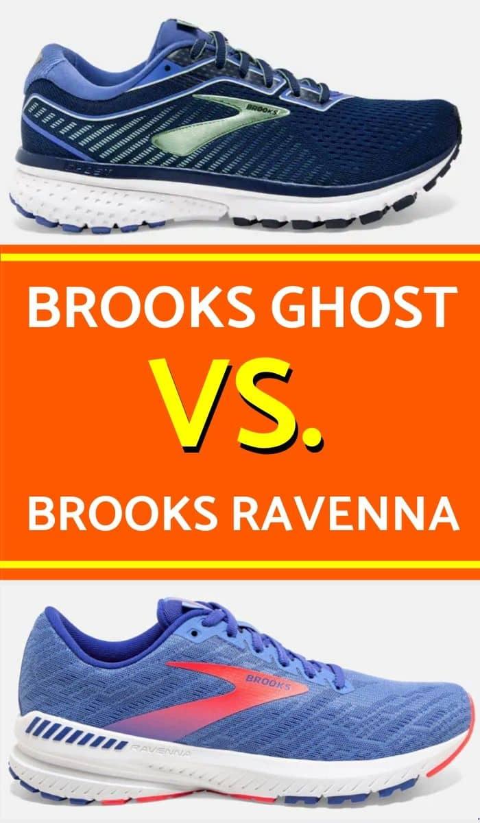 Brooks Ghost Vs Ravenna pinterest-min