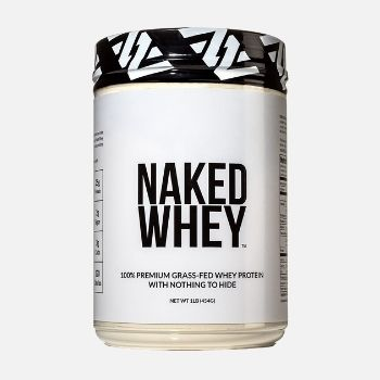 Naked WHEY 1LB 100% Grass Fed Unflavored Whey Protein Powder
