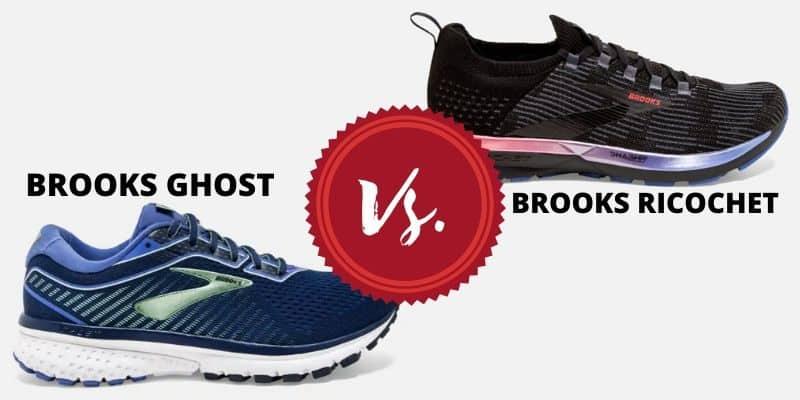 brooks ghost vs ricochet header image-min