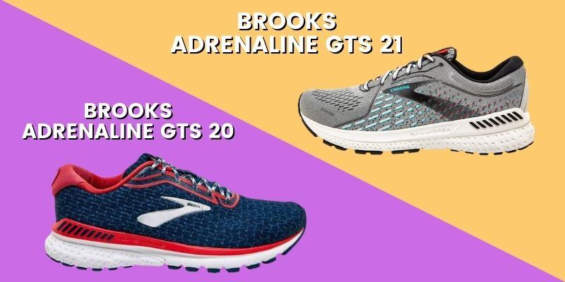 Brooks Adrenaline GTS 21 Vs 20 Header Image-min