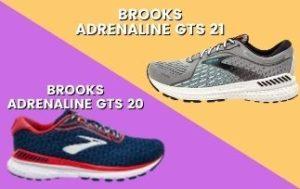 Brooks Adrenaline GTS 21 Vs 20 Thumbnail-min