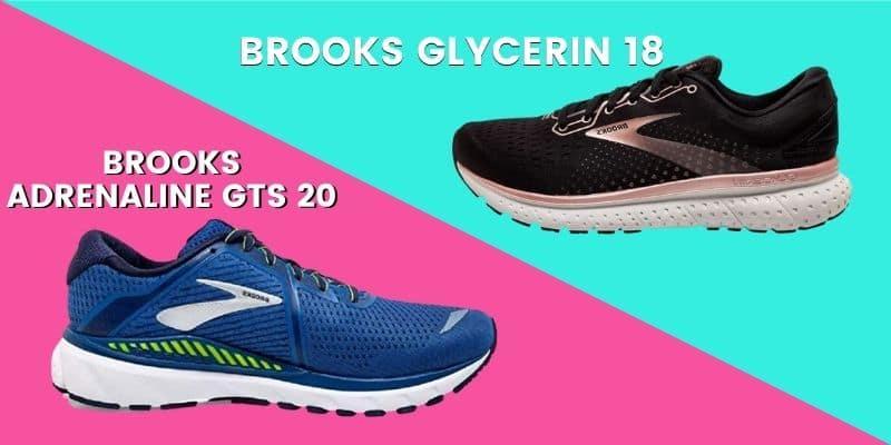 Brooks Adrenaline Vs Glycerin header image-min