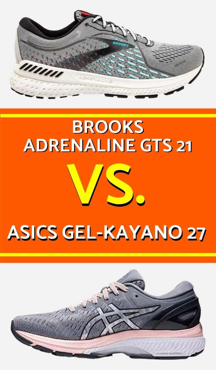 Brooks Adrenaline Vs Asics Kayano. Which one is the best running shoe? Brooks Adrenaline GTS will provide you with supreme comfort while Asics Gel Kayano will provide you with amazing impact absorption. Here is a detailed comparison of these top running shoes.