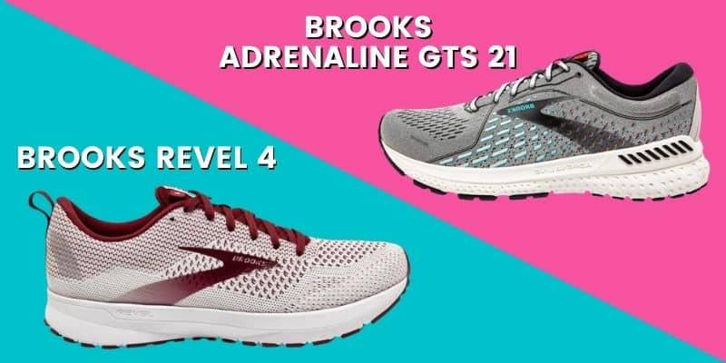Brooks Adrenaline vs Revel-min
