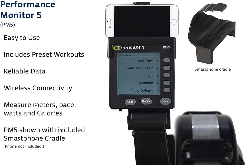 Concept 2 Model D - PM5 Monitor-min