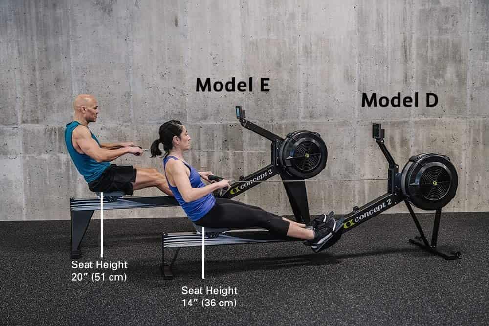 Concept2 Model E Vs Model D-min