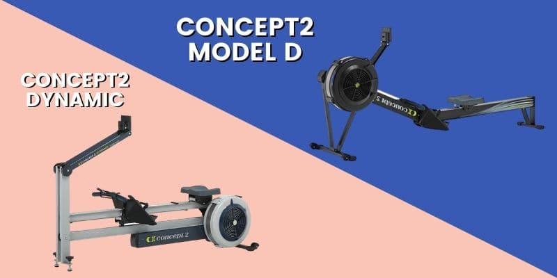 concept 2 rower model d vs dynamic