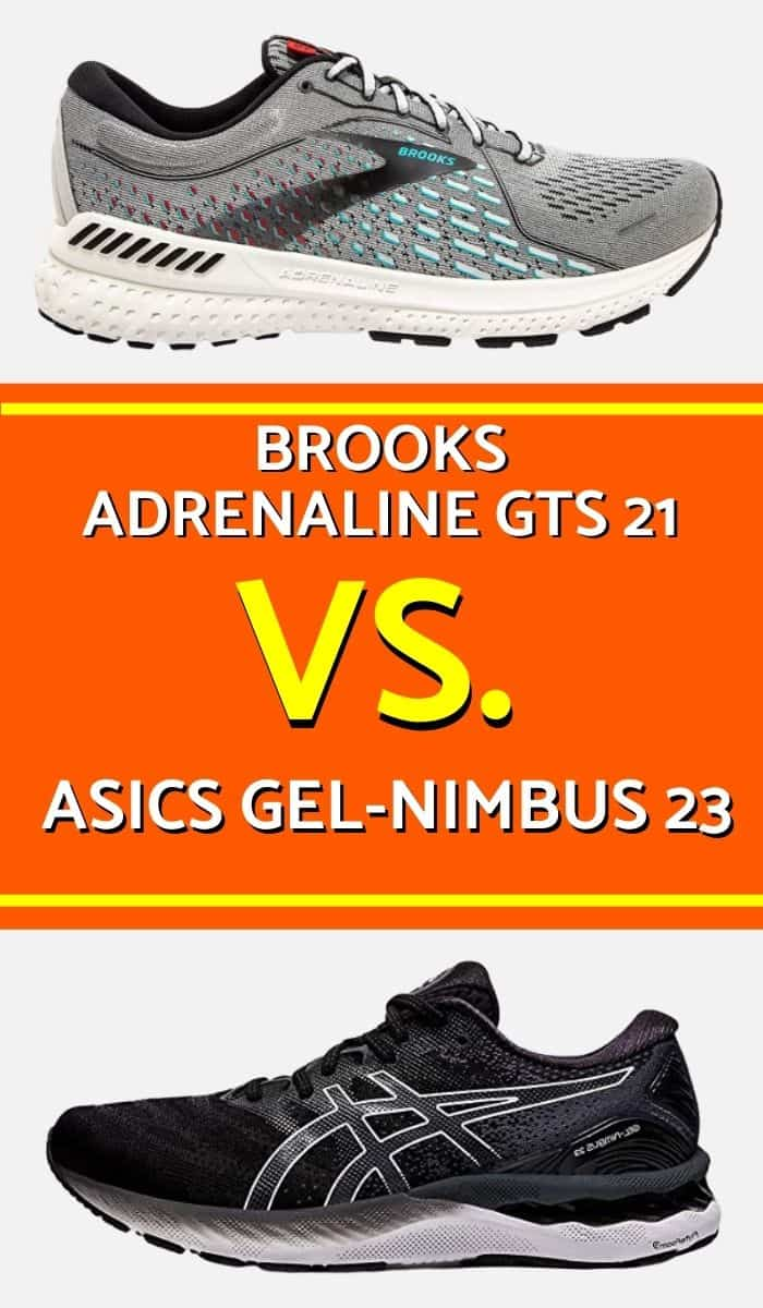 Brooks Adrenaline Vs Asics Gel-Nimbus...which is the best running shoe? Which running shoe will suit you the most? Find out in this detailed comparison of Brooks Adrenaline GTS and Asics Gel Nimbus.