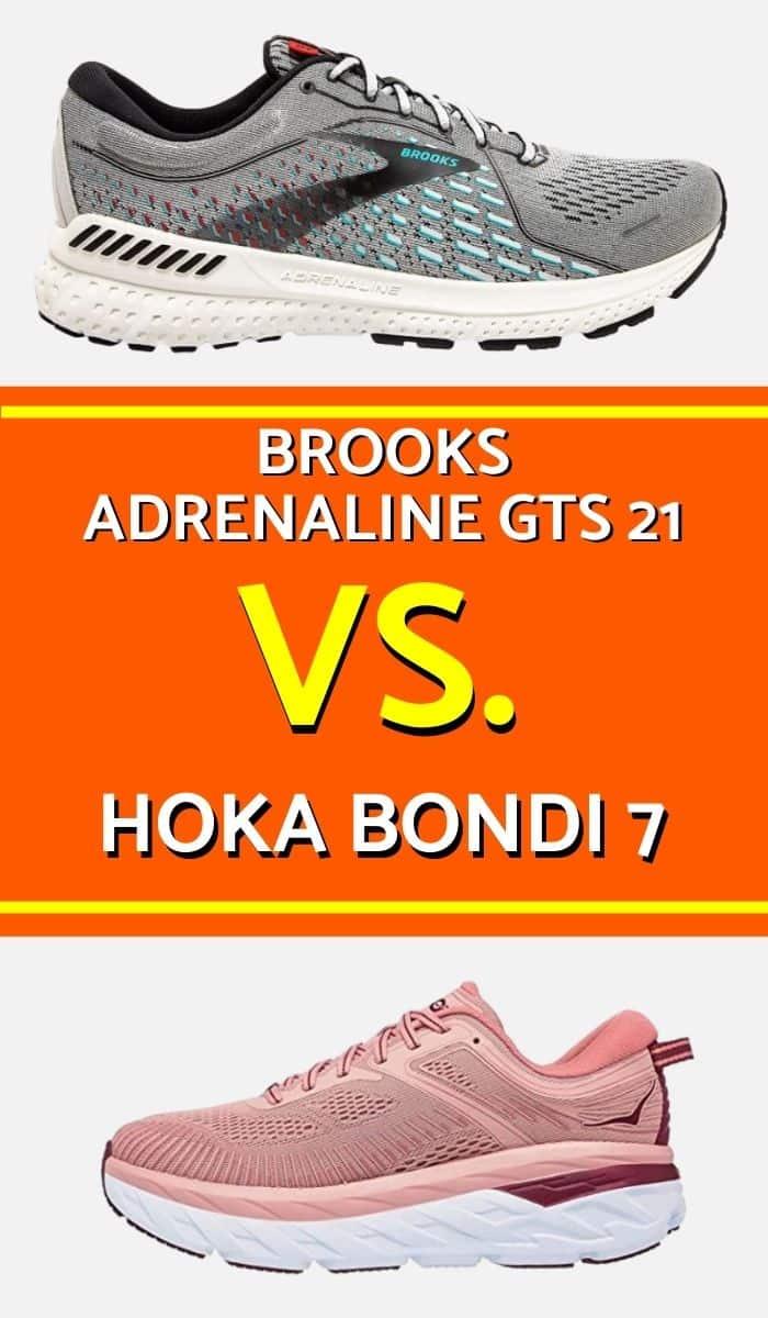 Brooks Adrenaline Vs Hoka Bondi Pinterest-min