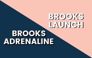Brooks Adrenaline GTS Vs Brooks Launch-min