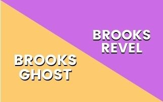 Brooks Ghost Vs Brooks Revel-min