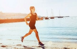 Is running right after eating bad-min