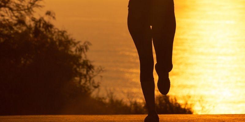 Running in the morning-min