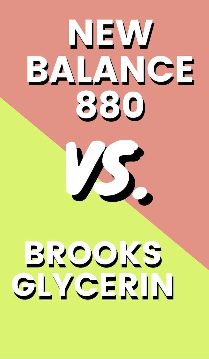 Brooks Glycerin Vs New Balance 880 Pin-min