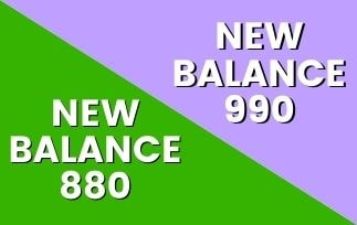 New Balance 880 vs 990: Which One Is The Best For You? [2021]