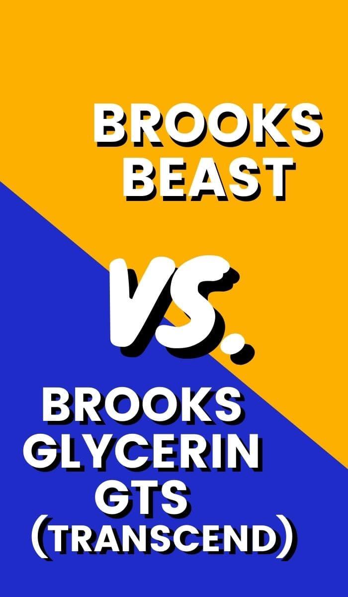 Brooks Glycerin GTS Vs Beast Pin-min